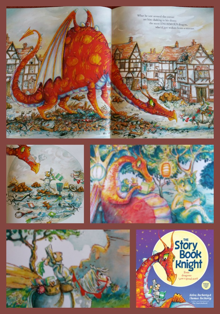 storybook knight Collage