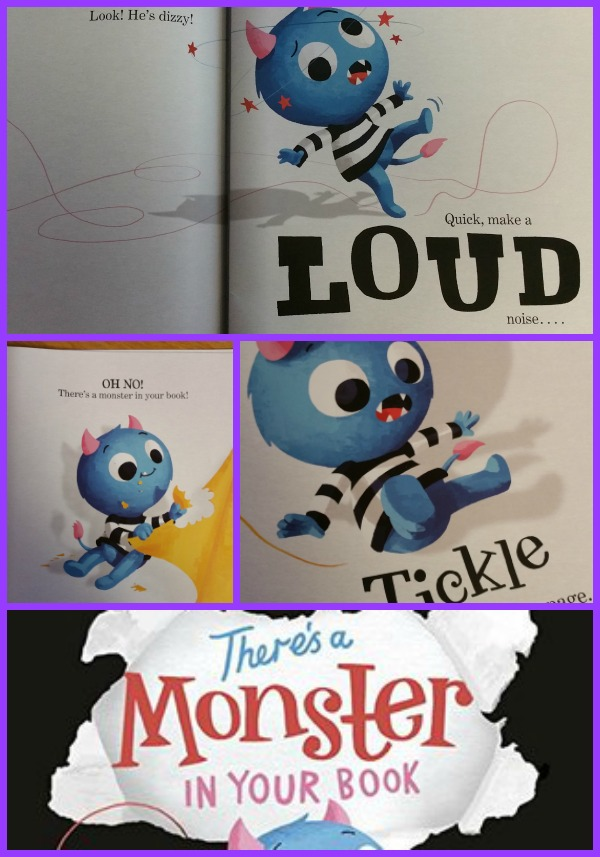 Monster in Your Book Collage