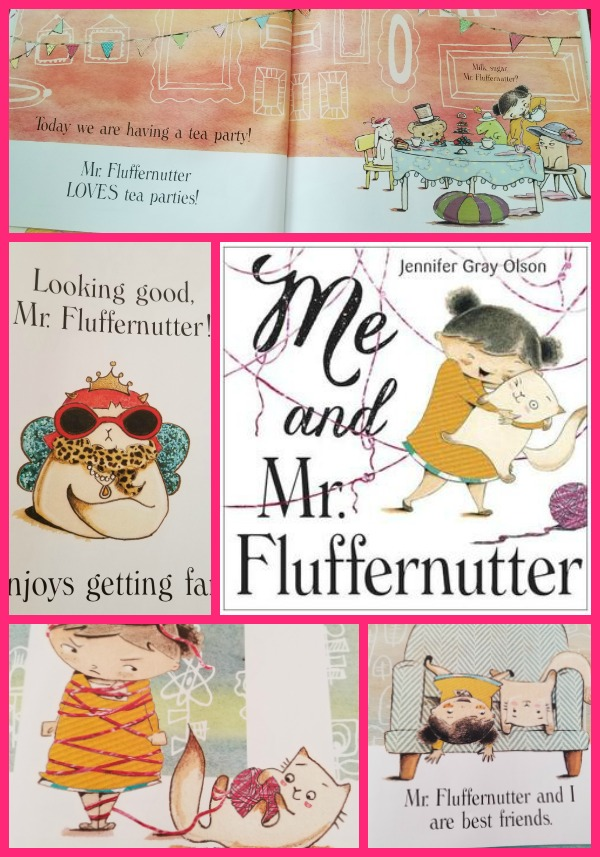 Me and Mr. Fluffernutter Collage